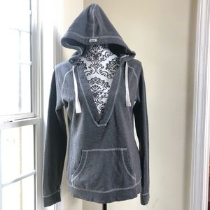 Converse One Star Suéter With Hoodie Size Small